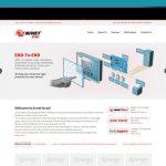 עיצוב ובניית אתר אבנט ישראל